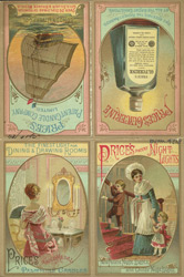 Advert for Price's Patent Candle Company